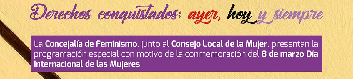 Con motivo de la conmemoración del 8 DE MARZO, DIA INTERNACIONAL DE LAS MUJERES, el Ayuntamiento de Fuenlabrada, junto a las entidades del Consejo Local de la Mujer, organizan la marcha virtual por la Igualdad 2021, que este año se celebrará el lunes 8 de marzo.